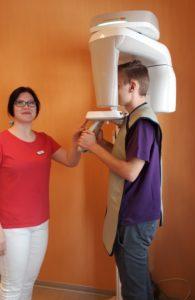 Anfertigung eines Röntgenbildes